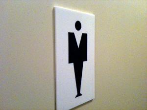 トイレには女神様が