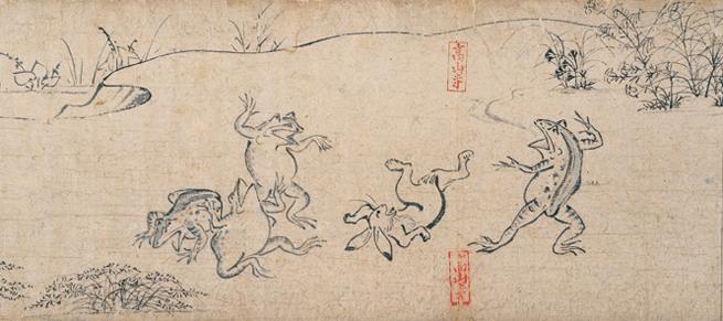 観る鳥獣戯画の極意:人に「想像させる」余白をもつ