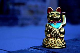 金色のまねき猫