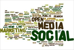 マーケティング、ソーシャル、メディア・・・